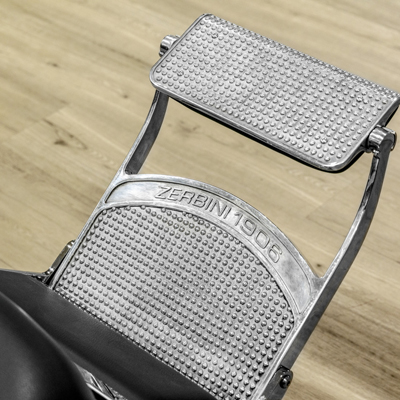 Barberarstol Zerbini med knappar