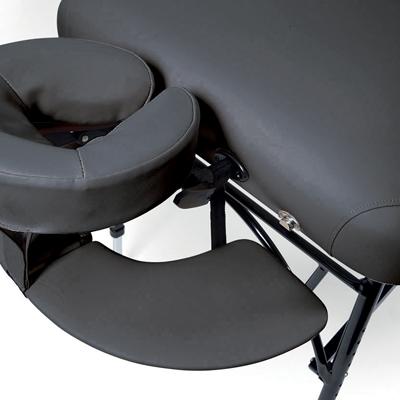 Sunset massagebänk svart