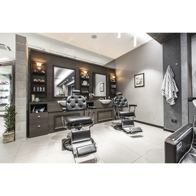 Barber Station komplett