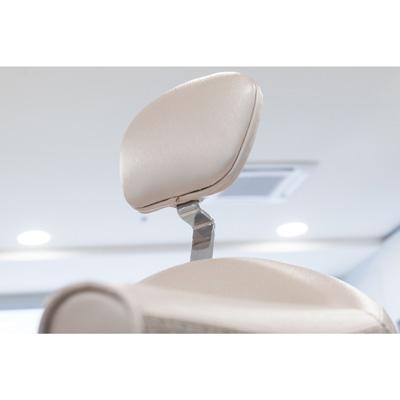 Musette klippstol med fällbar rygg