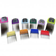 Wahl Distanskam-set Premium färgade 10-pack