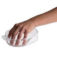 Handbad, Genomskinlig Plast
