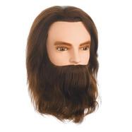 Övningshuvud Herre med skägg