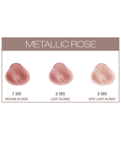 Evolution Metallic Rose 60 ml