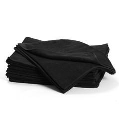 Handduk Bleach Safe Svart